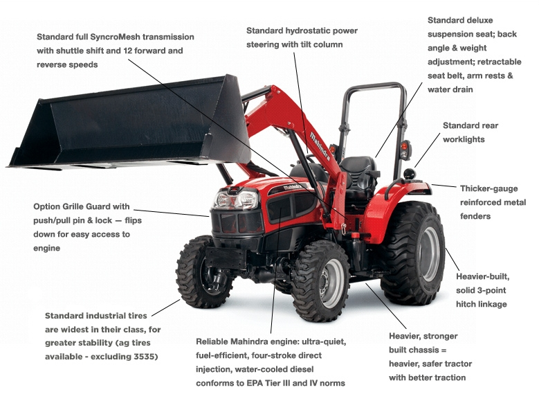 3550 4WD HST - Weeks Tractor