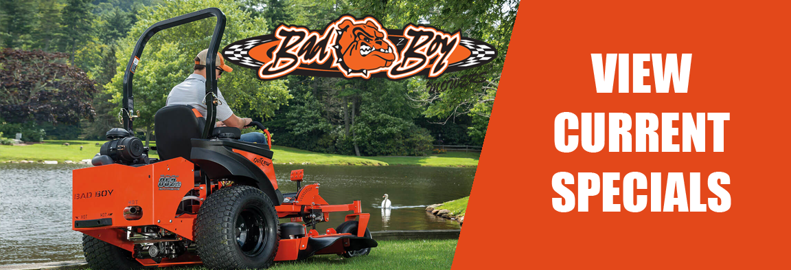 Bad Boy Mowers Specials at Weeks Tractor