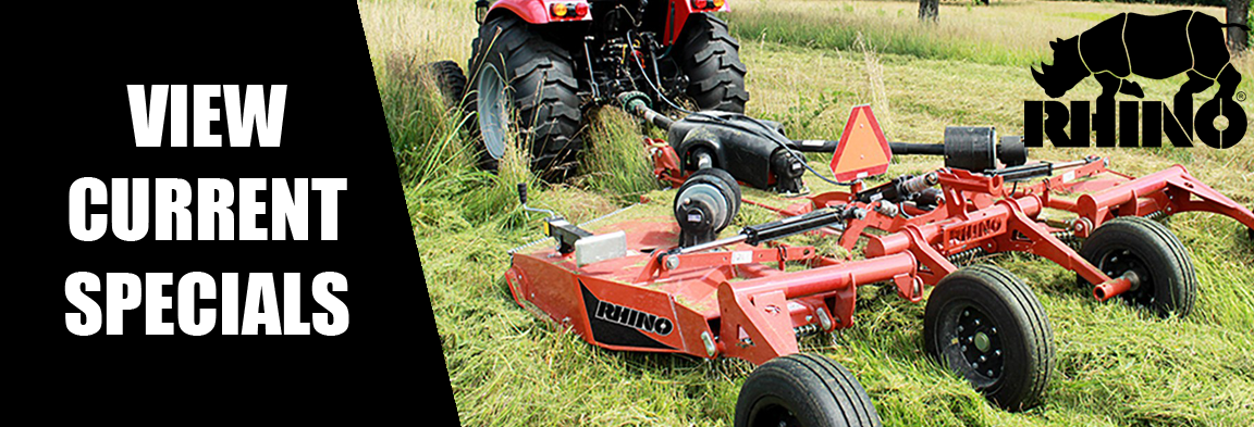 Rhino Specials at Weeks Tractor