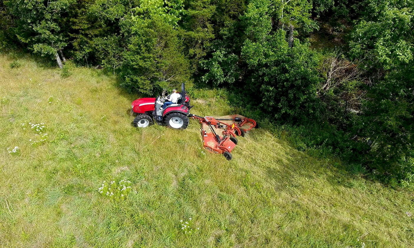 Rhino Ag Flex Wing Rotary Cutter Natchitoches LA